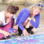 Action Painting, Foto: Karin Morf